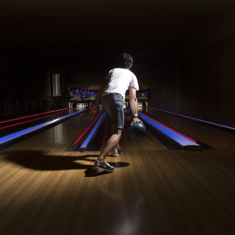 Bowling Aller in the Almyrida Residence
