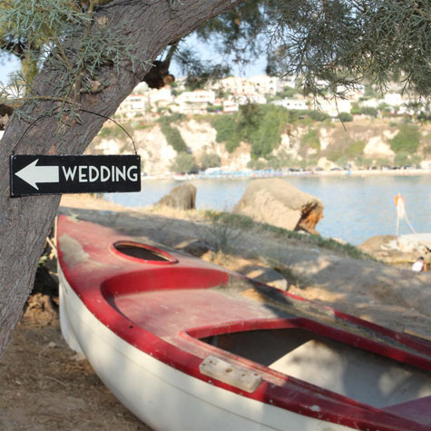 Beach Wedding in Almyrida