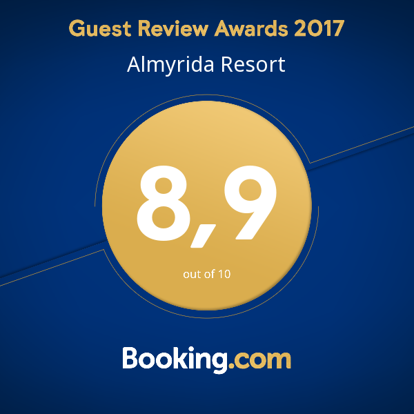 Almyrida Resort news - Award of Excellence