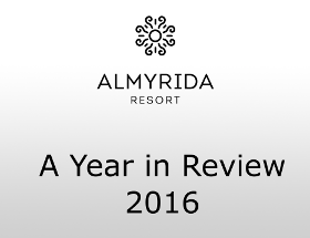 Almyrida Resort news - A Year in Review
